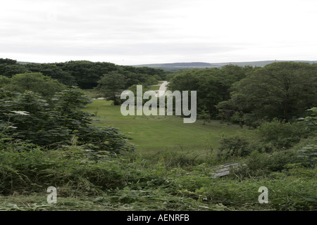 Cooill Y Ree nook of kings Millennium park St Johns Isle of Man IOM - Stock Photo