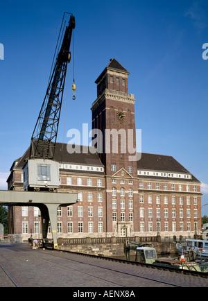 Berlin, Westhafen, Verwaltungsgebäude - Stock Photo