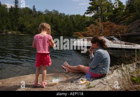 Girls in Nature - Stock Photo
