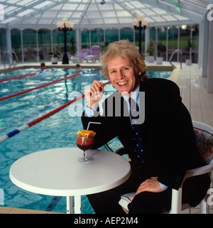 Celebrities British comic actor and singer Actor Paul Nicholas - Stock Photo