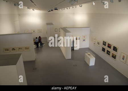 Art Gallery Aberystwyth Arts Centre West Wales UK - Stock Photo