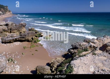 Cabo Trafalgar, Strand - Stock Photo