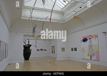 Exhibition Oriel Mostyn Gallery Llandudno North Wales UK - Stock Photo