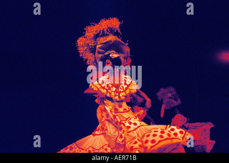 revue at tropicana club city of havana cuba editorial use only - Stock Photo