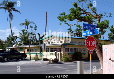 Captiva Island Pine Island Sound Florida fl USA The island Store - Stock Photo