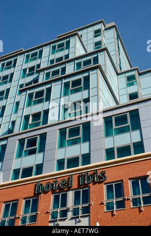 Exterior of Hotel IBIS Friar Street Reading Berkshire England - Stock Photo