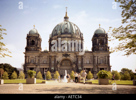 Berliner Dom - Berlin Cathedral or Oberpfarr - und Domkircheam , Berlin, Germany - Stock Photo
