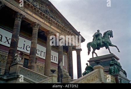 The Alte Nationalgalerie Museumsinsel Berlin Germany - Stock Photo