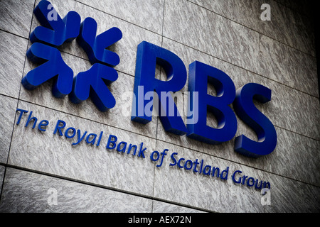 Royal bank of Scotland RBS in City of London - Stock Photo