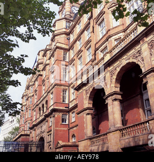 Landmark Hotel Marylebone Road London - Stock Photo