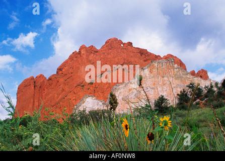 Geography Travel Usa Colorado Colorado Springs Landscape Stock Photo Royalty Free Image