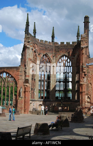 St. Michael's Cathedral, Coventry, West Midlands, England, United Kingdom - Stock Photo