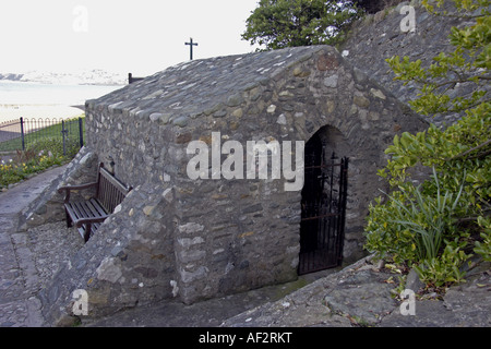 St Trillos Chapel Rhos on Sea North Wales UK - Stock Photo