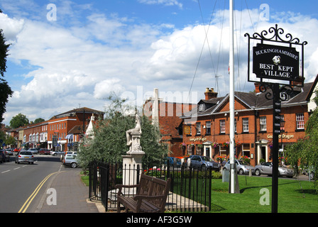 High Street, Marlow, Buckinghamshire, England, United Kingdom - Stock Photo