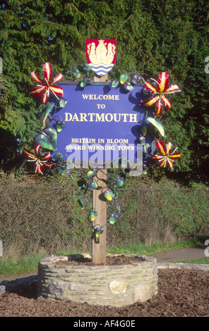 Welcome to Dartmouth - Stock Photo