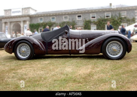 1938 Alfa Romeo 6c 2300b Mille Miglia Spyder At Festival Of Speed