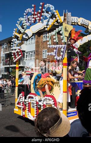 Notting Hill Carnival London - Stock Photo