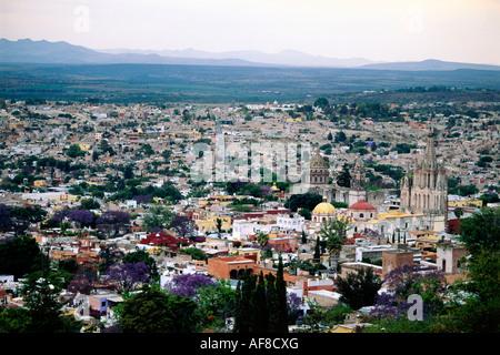 View of San Miguel de Allende, Mexico - Stock Photo