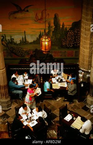 Casa de los azulejos mexico city stock photo royalty for Restaurant los azulejos df