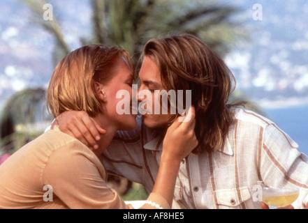 BLOW Franka Potente and Johnny Depp in the 2001 film - Stock Photo