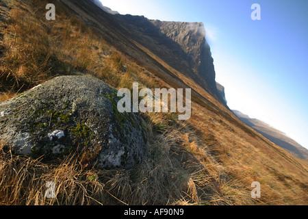 A Stock Photograph of Etive Moor in Glen Coe Scotland - Stock Photo