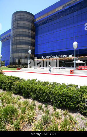 Pacific Design Center, West Hollywood, Los Angeles, California, U.S.A - Stock Photo