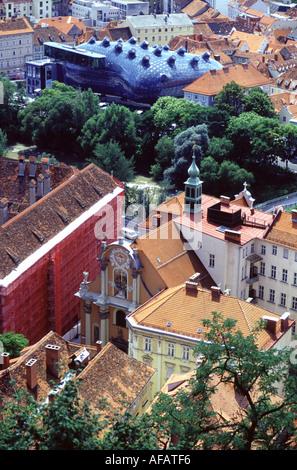 Travel photography from Graz Austria - Stock Photo