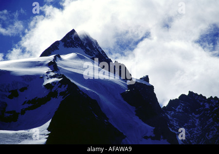 Travel photography from the Carinthia Hohe Tauern Alps Austria - Stock Photo