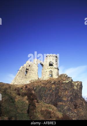 Mow Cop castle near Congleton Cheshire UK - Stock Photo