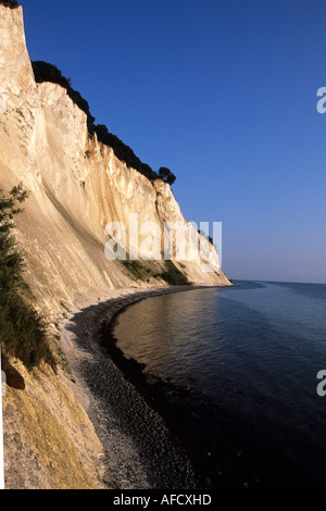 Mons Klint Chalk Cliffs, Mons Klint, Mon, Denmark Stock Photo