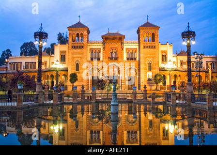 Costume and Art Museum in Seville Andalusia Spain - Stock Photo