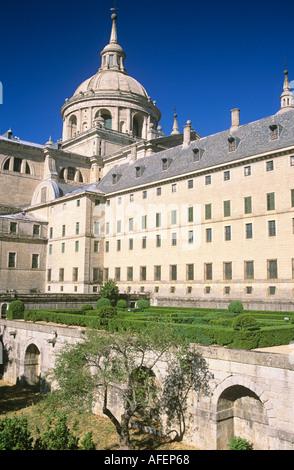 El Escorial Monastery Spain - Stock Photo