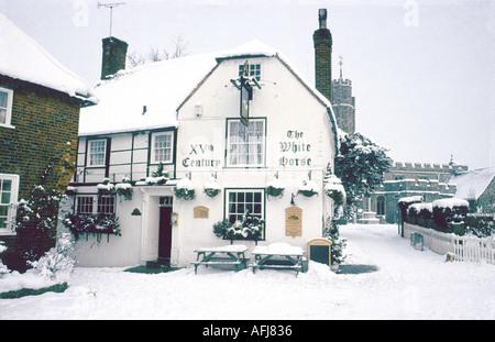 white horse pub chilham kent