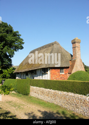 The Clergy House Alfriston East Sussex England - Stock Photo