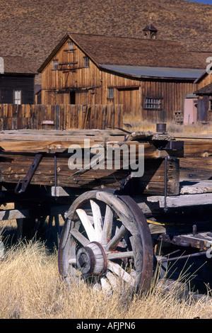 Bodie ghost town California USA - Stock Photo