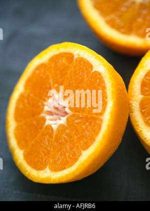 Orange halves - Stock Photo