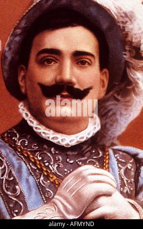 ENRICO CARUSO Italian opera star - Stock Photo