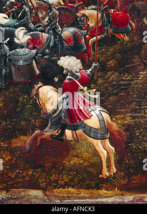 'fine arts, Altdorfer, Albrecht, (1480 - 1538), painting, 'Alexanderschlacht', ('battle of Alexander the Great'), - Stock Photo