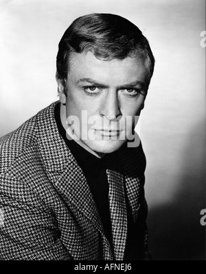 Caine, Michael, * 14.3.1933, British actor, portrait, 1950s, 50s, clothing, fashion, jacket, sack coat, shepherd's - Stock Photo