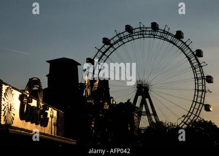 Vienna, Giant Ferry Wheel - Stock Photo