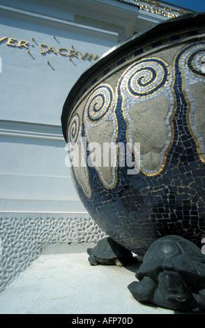 art nouveau building Secession - Stock Photo