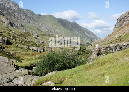Llanberis Pass - Stock Photo