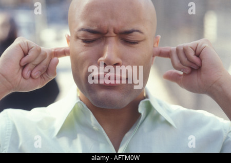 Young man gesturing - Stock Photo