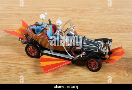 Chitty Chitty Bang Bang, Corgi Die-cast model no 266. Issued in 1967 - Stock Photo