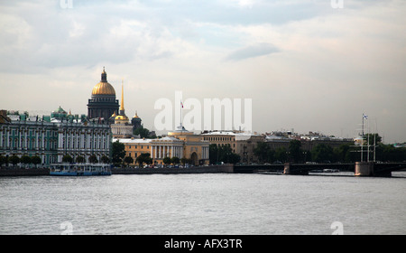 View from Peter and Paul Fortress - Stock Photo