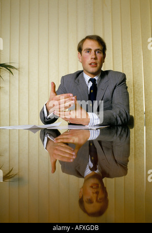 Prince Edward of British Royal family - Stock Photo
