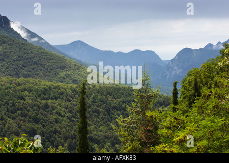 Tinee Valley in the Alpes Maritimes, Provence, France, Europe - Stock Photo