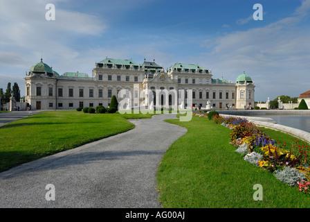 BELVEDERE PALACE. VIENNA, AUSTRIA - Stock Photo