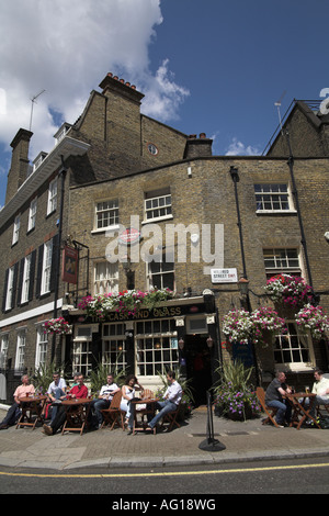 The Cask and Glass Pub Palace St Street SW1 London UK - Stock Photo