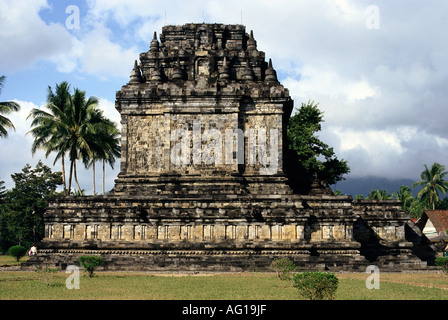 geography / travel, Indonesia, Java, buildings, Candi Mendut, temple, exterior view, Buddhism, 9th century, Additional - Stock Photo